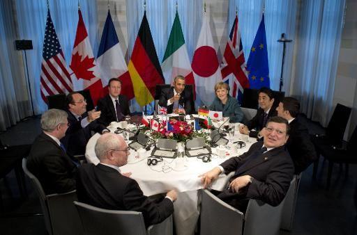 Konferenz in Den Haag ..G7-Staaten versuchen Russland weiter zu isolieren