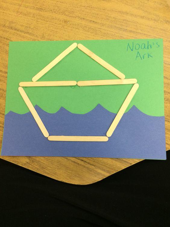 Easy noah 39 s ark craft for preschoolers ocean commotion for Noah s ark preschool craft