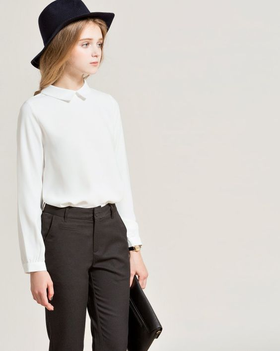 質感知性襯衫上衣|女裝|MEIER.Q