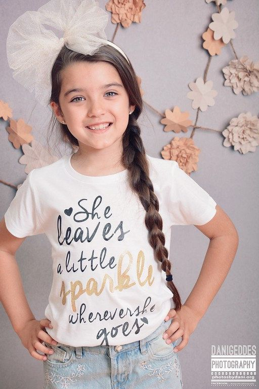 Clothes Quotes Children , Sparkle Glitter TShirt Girls