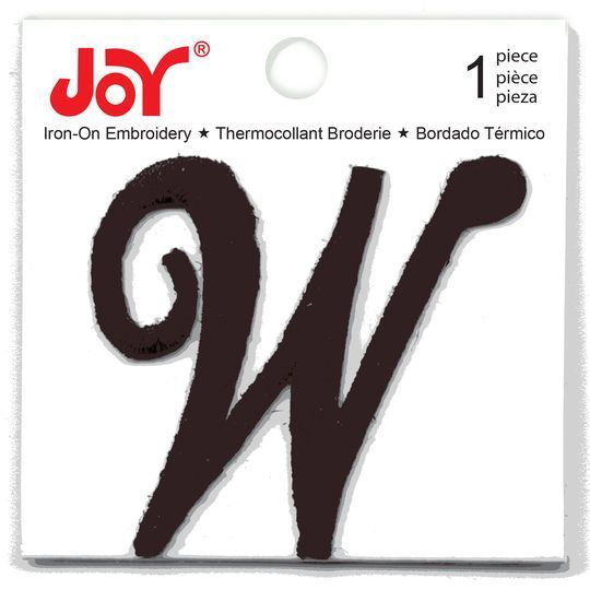 monogram iron ons Iron On Letters & Numbers: Joy Lettershop Iron-On Letter