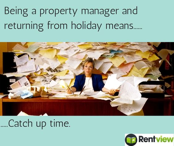 Apartment Leasing Companies: Property Managers Who Return From Holidays Will Totally