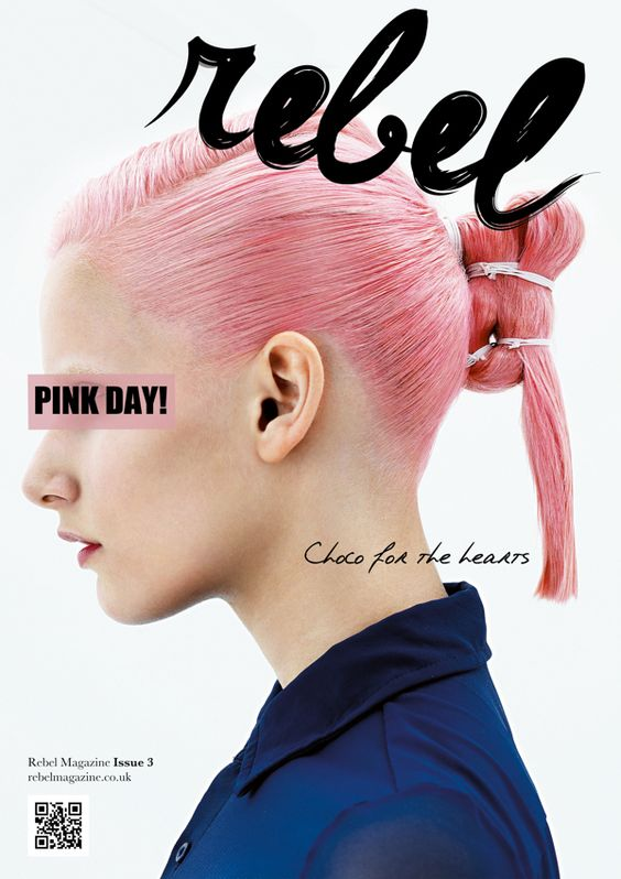REBEL Typeface + Magazine Masthead by Lily Le, via Behance