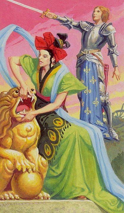 Strength - Tarot of the Journey to the Orient (Marco Polo Tarot) by ...