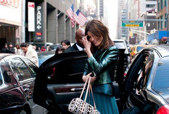Fashion Week Street Style : Lucky Magazine