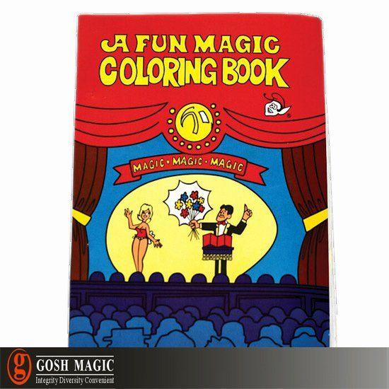 Coloring Book Magic Trick Elegant A Fun Magic Coloring Book Toddler Coloring Book Coloring Books Magic Tricks Book