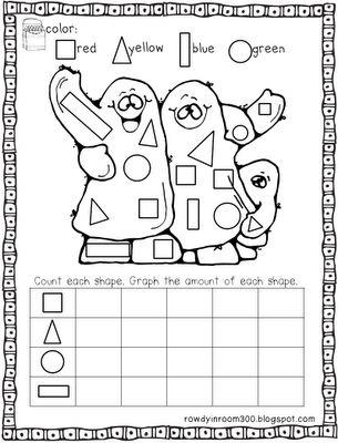 ghost shape graph | KindergartenKlub.com | Pinterest | Fast ...