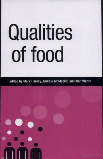 OAPEN Library - Qualities of food