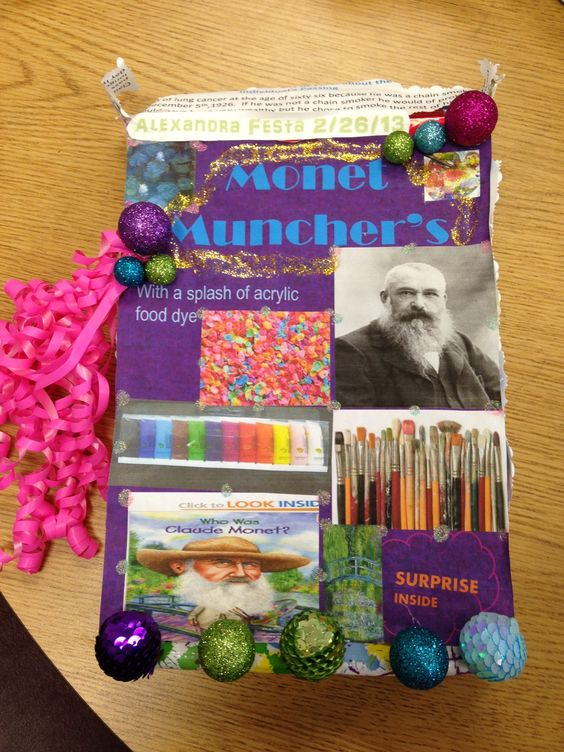 Cereal box biography reports literature ideas for Cereal box project for school