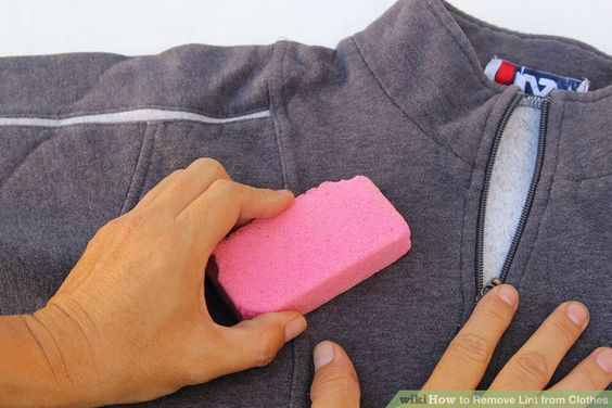 Remove lint from clothes clothes - How to remove lint ...