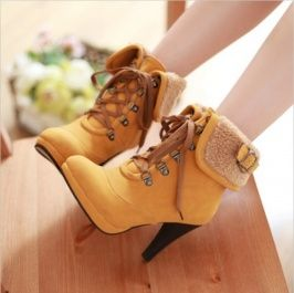 Boots Yellow