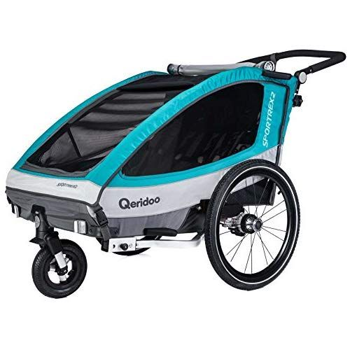 Qeridoo Sportrex 2 Deluxe Kinderanhanger 2018 Farbe Weiss Amazon