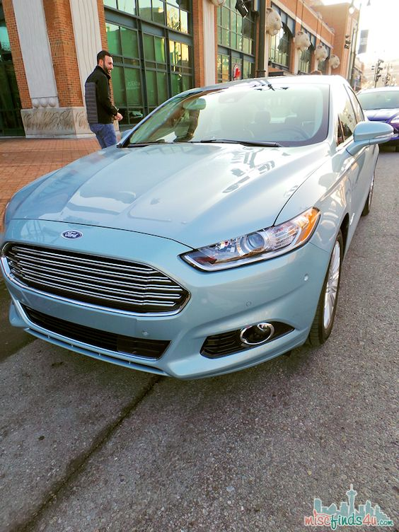 Test Drive Ford Fusion On The Road In Detroit Ford Motor