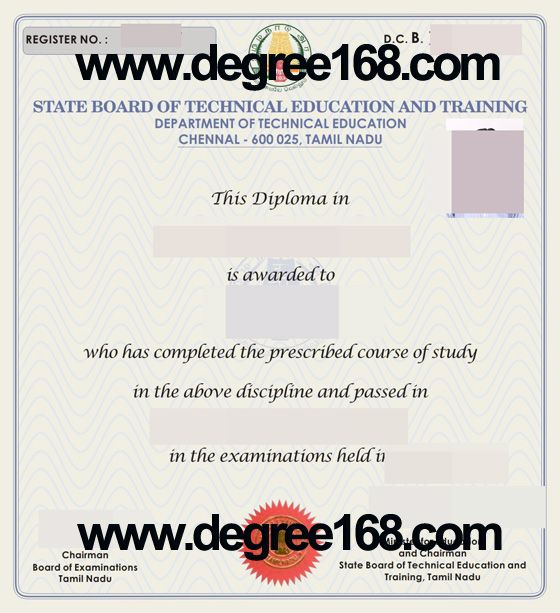 Where to Buy Bachelor State Board of Technical Education and - training certificate