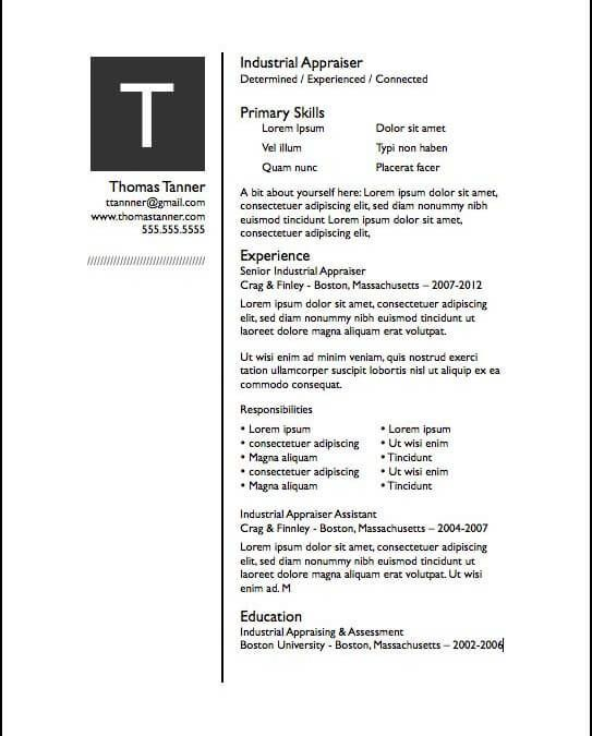 Free Resume Templates Apple Pages | Best free resume ...