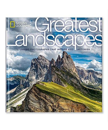 Another great find on #zulily! Greatest Landscapes Hardcover #zulilyfinds