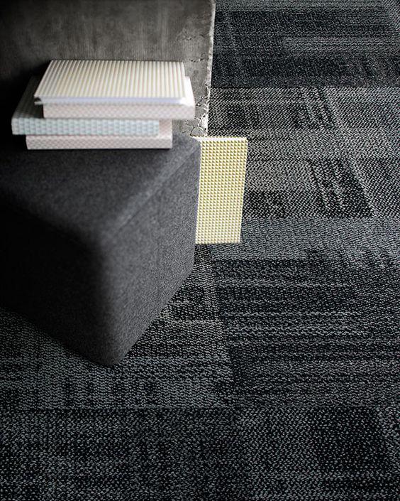 Interface Modular Carpet Tile Aerial Ae310 Smoke