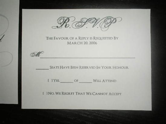 Image Result For Rsvp Wording With Number Of Guests