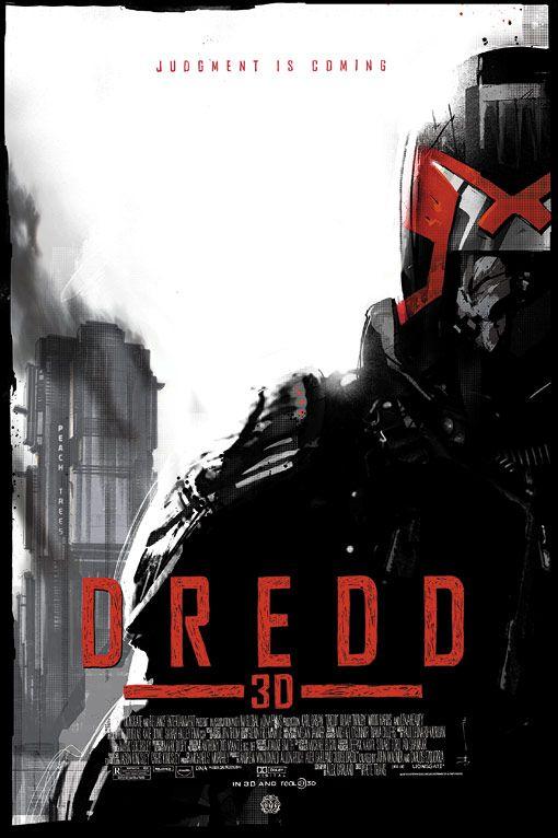 The Mondo Dredd 3D Poster