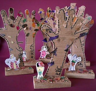 Manuales: Bosque de manos