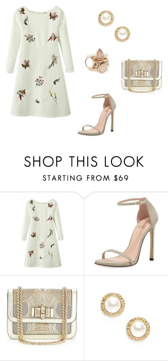 """232"" by tofly-22 ❤ liked on Polyvore featuring Stuart Weitzman, Christian Louboutin, Chanel and The Limited"