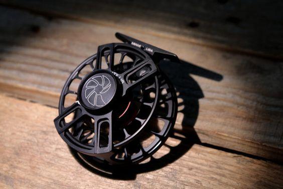 A Black Nautilus X Series Fly Reel