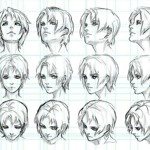 Faces At Different Angles Faces At Different Angles In 2020 Face Angles Drawing Heads Face Drawing