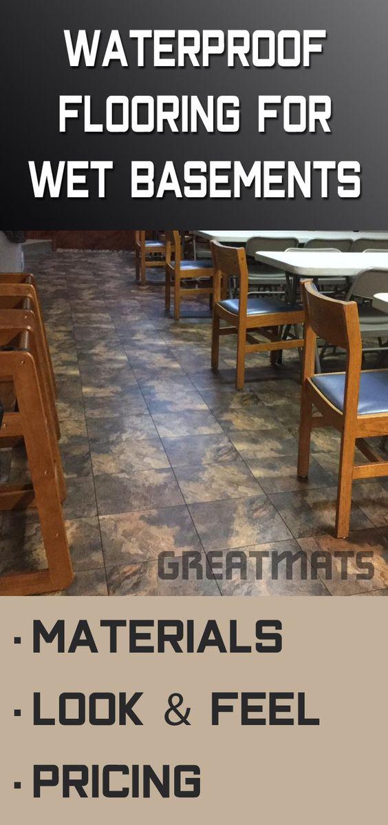 Best Waterproof Flooring For Basements That Flood Materials Design Wet Basement