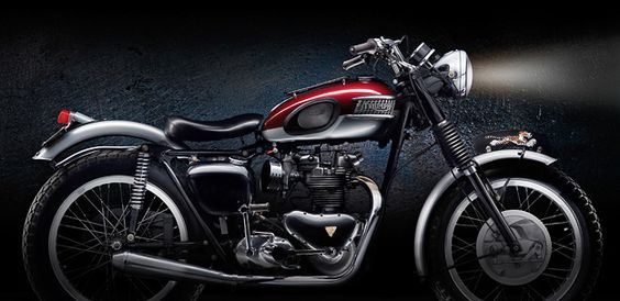 Awesome 1957 Triumph Tiger 110