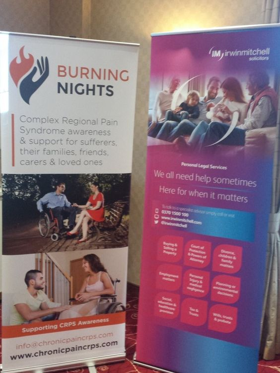 Burning Nights CRPS Support meet & greet conference during November in Birmingham | Kindly sponsored by Irwin Mitchell solicitors