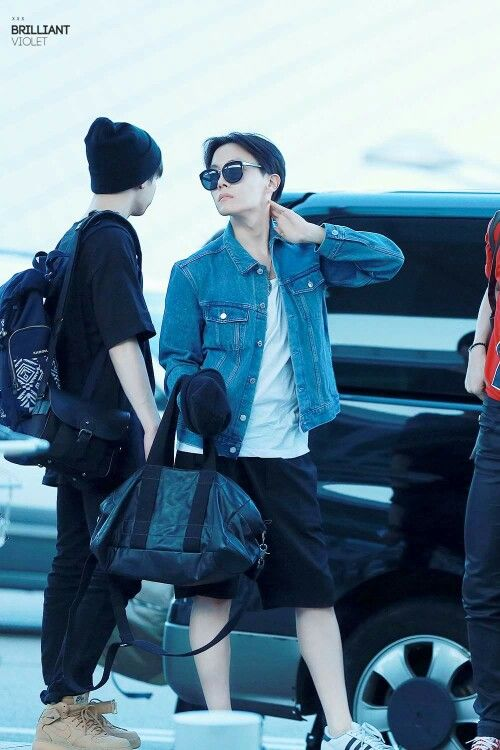 J Hope Airport Fashion Bts Fashion Pinterest