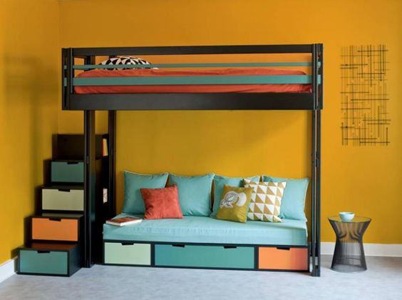 mezzanine banquettes and google on pinterest. Black Bedroom Furniture Sets. Home Design Ideas