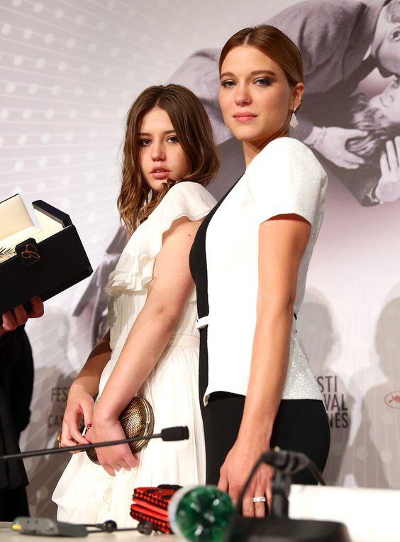 Lea Seydoux - Palme D'Or Winners Press Conference in Cannes