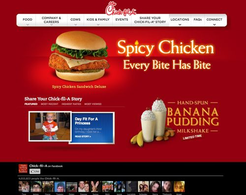 Web Designs for the Food Industry