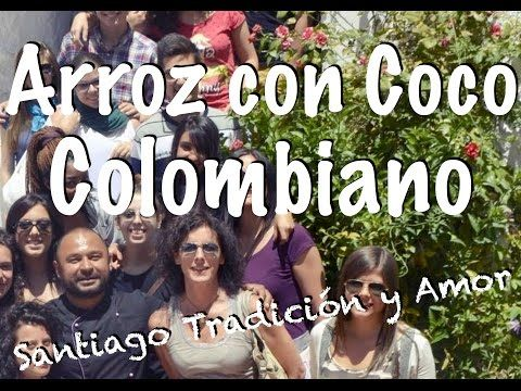 Arroz con coco Colombiano - YouTube