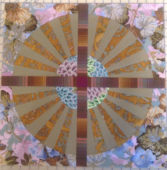 Paper pieced spokes