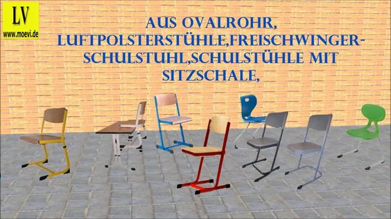 Videos Schulmöbel, Schulstühle kaufen,  bei Lehrmittel Vierkant