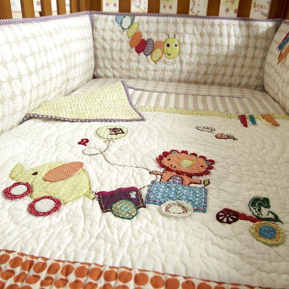 "Mamas & Papas Jamboree 4-Piece Bedding Set - Mamas and Papas - Babies ""R"" Us"