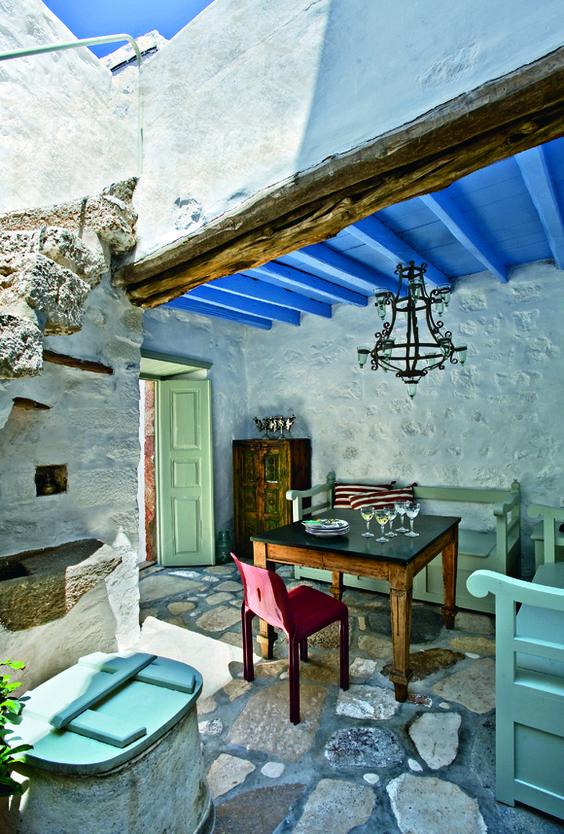 House in Patmos, Greece
