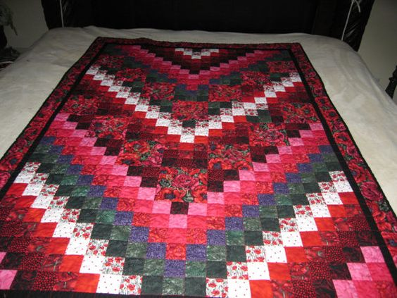 I've just started quilting lately. All by hand, and I love it! BTW, this is not mine.