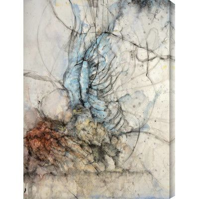 Gallery Direct 'Crossing VI' by Monica Wang Graphic Art on Wrapped Canvas Size: