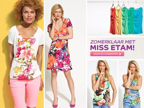 Folder Miss Etam korting kleding damesmode