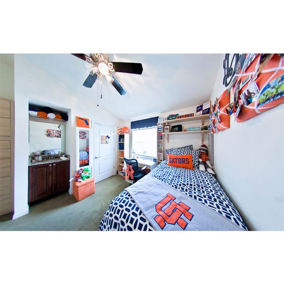 Decorating Tips for Univeristy of Florida Students ❤ liked on Polyvore featuring dorm