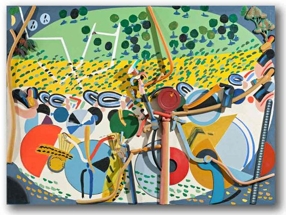 Colin Lanceley painting. Australian artist.