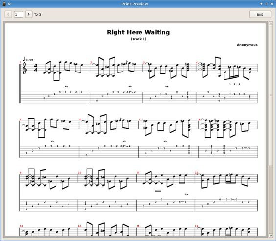 Multitrack Guitar Tablature Editor And Player Software