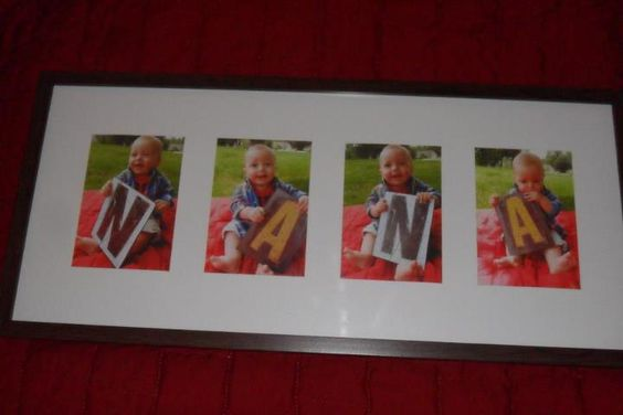 Charlie's Mother's Day gift for his Nana