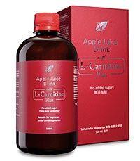 Nn apple juice drink with L-Carnitine Plus
