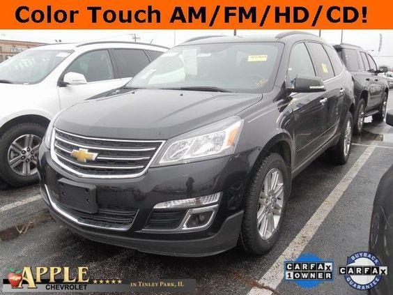 2014 Chevrolet Traverse LT 1 LT - SOLD - http://www.applechevy.com