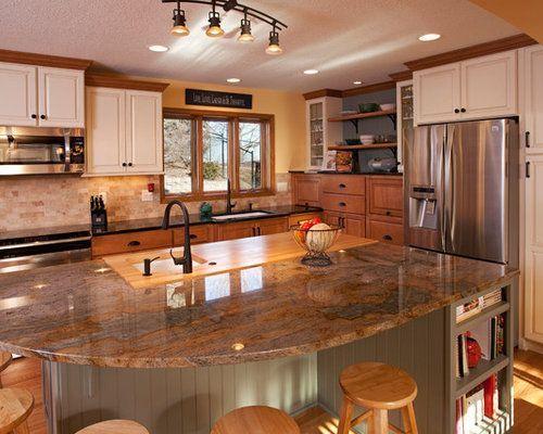 Oak Trim Houzz In 2021 Kitchen Remodel Inspiration Kitchen Backsplash Designs Kitchen Remodel