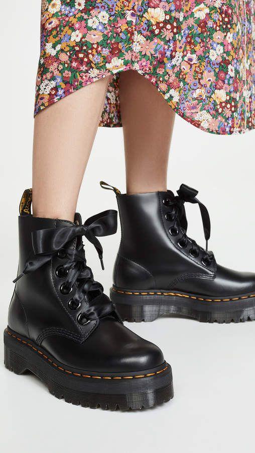 Boots, Lace combat boots, Doc martens boots
